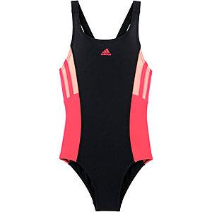 adidas Badeanzug Mädchen schwarz/koralle