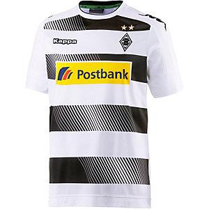 KAPPA Borussia Mönchengladbach 16/17 Heim Fußballtrikot Herren weiß