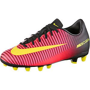 Nike MERCURIAL VAPOR XI AG Fußballschuhe Kinder orange/gelb/pink