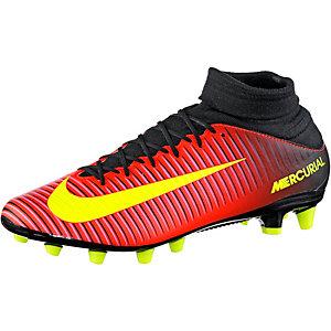 Nike MERCURIAL VELOCE III DF AG-PRO Fußballschuhe Herren orange/gelb/pink