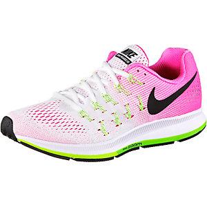 Nike Air Zoom Pegasus 33 Laufschuhe Damen weiß/pink