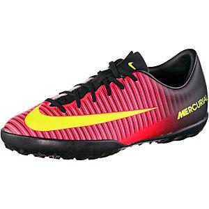 Nike MERCURIAL VAPOR XI TF Fußballschuhe Kinder orange/gelb/pink
