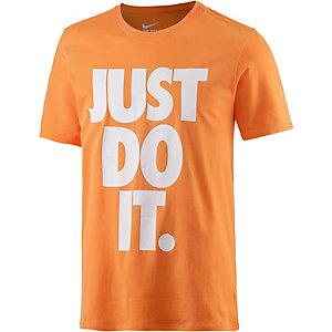 Nike Solstice JDI T-Shirt Herren orange/weiß