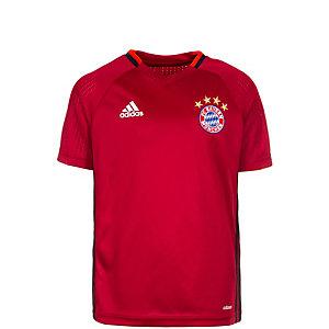 adidas FC Bayern München Fanshirt Kinder dunkelrot