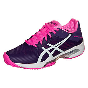 ASICS Gel-Solution Speed 3 Clay Tennisschuhe Damen lila / pink / weiß