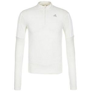 adidas Response 1/2 Zip Laufshirt Damen weiß