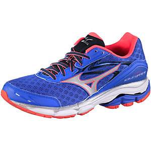 Mizuno Wave Inspire 12 Laufschuhe Damen blau/orange