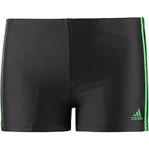 adidas Kastenbadehose Jungen schwarz/grün