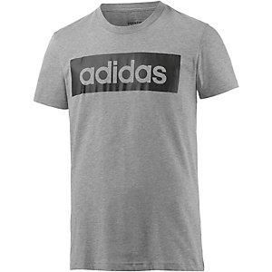 adidas Lin T-Shirt Herren grau