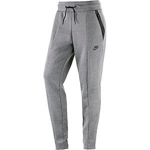 Nike Tech Fleece Knit Trainingshose Damen dunkelgrau
