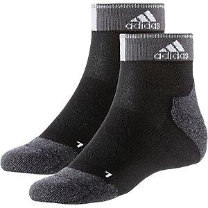 adidas Laufsocken schwarz/weiß