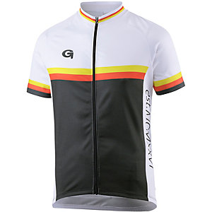 Gonso Minder Fahrradtrikot schwarz weiß