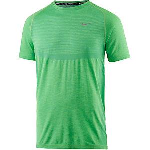 Nike Dri-Fit Knit Funktionsshirt Herren grün
