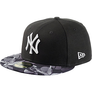 New Era Birds of Paradise Fitted NY Yankees Cap schwarz/weiß