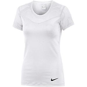 Nike Pro T-Shirt Damen weiß