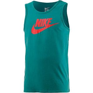Nike Solstice Futura Tanktop Herren türkis