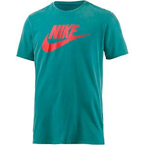 Nike Solstice Futura Printshirt Herren türkis