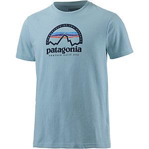 Patagonia Arched T-Shirt Herren hellblau
