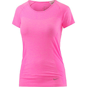 Nike Dri-Fit Knit Laufshirt Damen pink