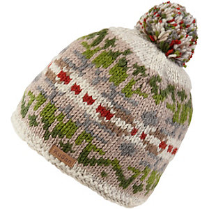 KUSAN Bobble Hat Bommelmütze grau/grün