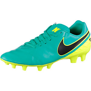 Nike TIEMPO MYSTIC V FG Fußballschuhe Herren grün/schwarz