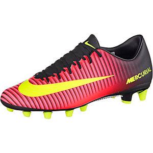 Nike MERCURIAL VICTORY VI AG-PRO Fußballschuhe Herren orange/gelb/pink