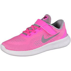 Nike Free Laufschuhe Mädchen korall