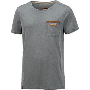 Naketano Suppenkasper V T-Shirt Herren anthrazit washed