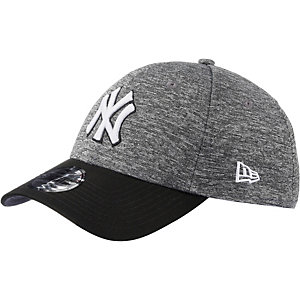 New Era Flecked grey Stretch NY Yankees Cap grau/schwarz
