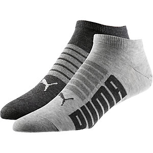 PUMA Sneakersocken anthrazit/grau