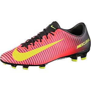 Nike MERCURIAL VELOCE III FG Fußballschuhe Herren orange/gelb/pink