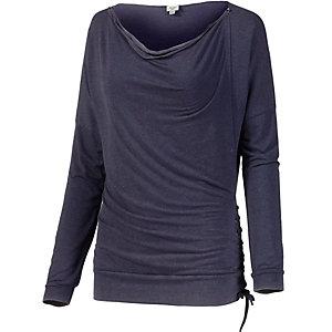 Khujo Langarmshirt Damen blau/lila