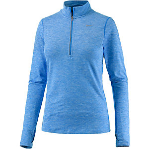 Nike Dri-Fit Element Laufshirt Damen hellblau