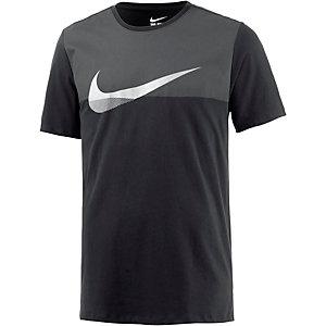 Nike AV15 Metallic Swoosh Printshirt Herren schwarz