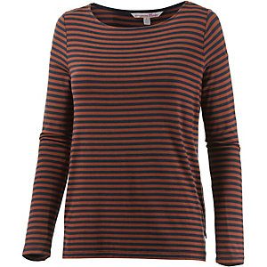TOM TAILOR Langarmshirt Damen dunkelorange
