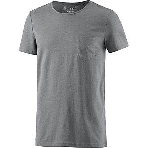 TOM TAILOR T-Shirt Herren grau