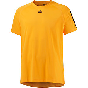 adidas Base 3S Funktionsshirt Herren gelb