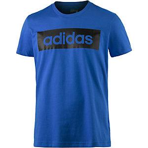adidas Lin T-Shirt Herren blau