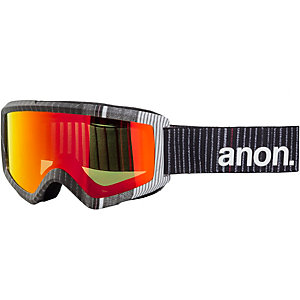 Anon Helix With Spare Snowboardbrille schwarz-rot