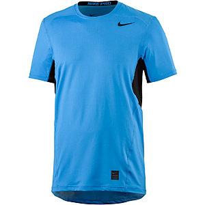 Nike Pro Funktionsshirt Herren blau/schwarz