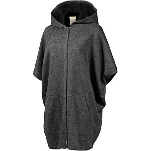 nümph Strickjacke Damen anthrazit