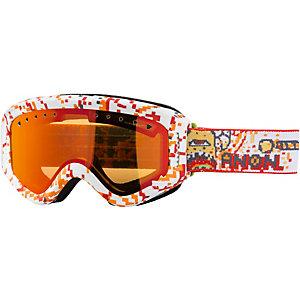 Anon Tracker Snowboardbrille Kinder weiß/ rot