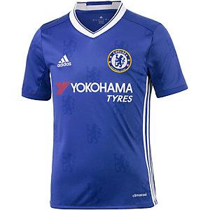 adidas FC Chelsea 16/17 Heim Fußballtrikot Kinder blau