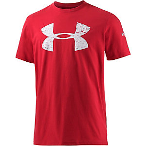 Under Armour Heat Gear Graphic Printshirt Herren rot
