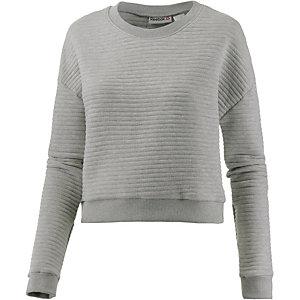Reebok Sweatshirt Damen grau/melange
