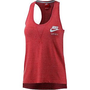 Nike Gym Vintage Tanktop Damen rot