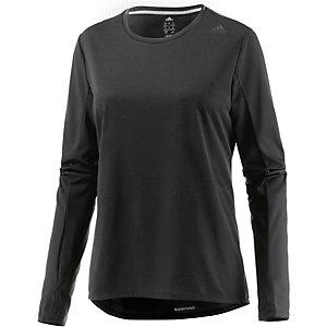 adidas Supernova Laufshirt Damen schwarz