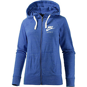 Nike Gym Vintage Sweatjacke Damen royal/melange