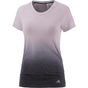 adidas Priknit Laufshirt Damen rosé/grau