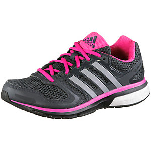 adidas Questar Laufschuhe Damen schwarz/pink
